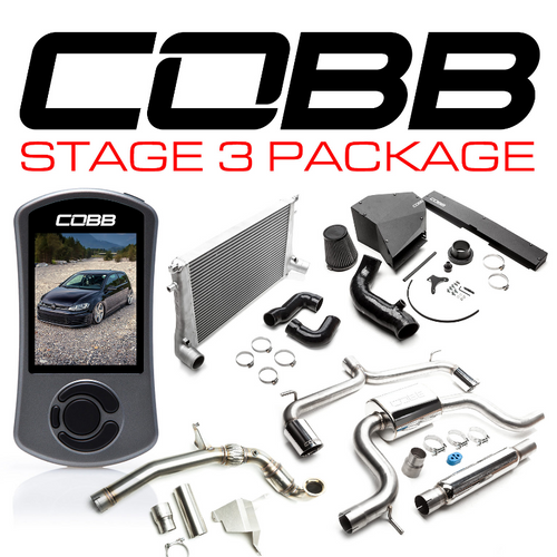 Cobb Volkswagen Stage 3 Power Package GTI (MK7) 15-17 USDM