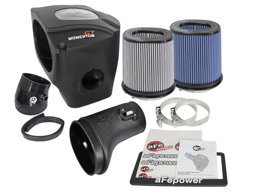 aFe Power 52-72204 Momentum GT Cold Air Intake System Dodge Challenger/Charger SRT Hellcat 15-16 V8-6.2L
