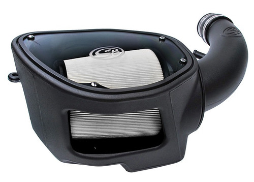 S&B  75-5084D Cold Air Intake for 07-11 Jeep Wrangler JK 3.8L (Dry Extendable Filter)
