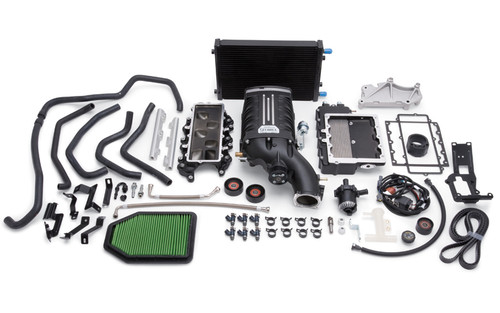 Edelbrock Supercharger Stage 1 Street Kit w/ Tuner for 15-16 Jeep Wrangler 3.6L