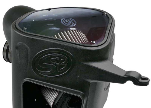 S&B 75-5094D Cold Air Intake for 2003-2007 Dodge Ram Cummins 5.9L (Dry Extendable Filter)