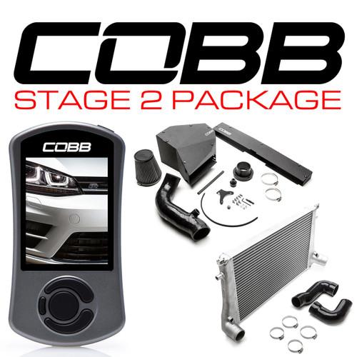 Cobb Stage 2 Power Package For 15-17 Volkswagen Golf R (MK7) USDM