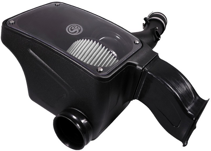 S&B 75-5096D Cold Air Intake for 2016-2017 Toyota Tacoma 3.5L (Dry Extendable Filter)