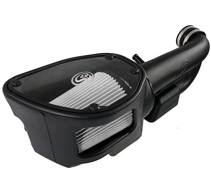 S&B 75-5060D Cold Air Intake for 12-17 Jeep Wrangler JK 3.6L (Dry Extendable Filter)