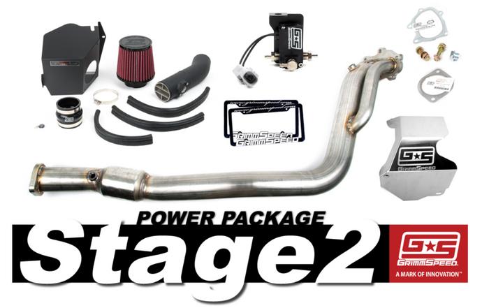 GrimmSpeed Stage 2 Power Package 08-14 Subaru STI - 191005