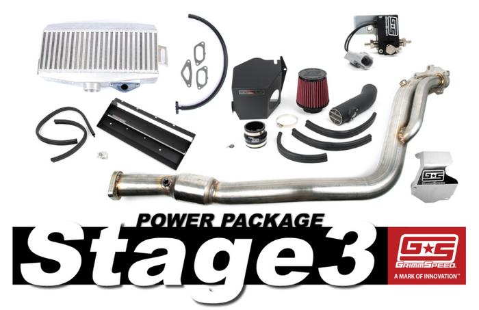 GrimmSpeed Stage 3 Power Package 08-14 Subaru STI - 191006