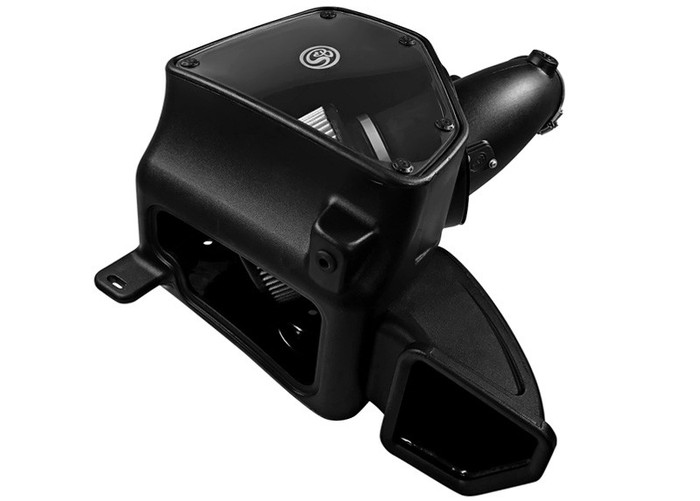 S&B 75-5087D Cold Air Intake for 14-17 Dodge Ram 2500 / 3500 6.4L HEMI (Dry Extendable Filter)