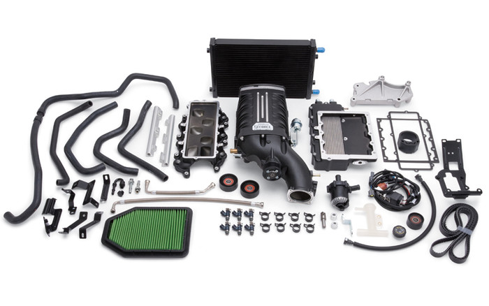 Edelbrock Supercharger Stage 1 Street Kit w/ Tuner for 15-16 Jeep Wrangler 3.6L (1528)