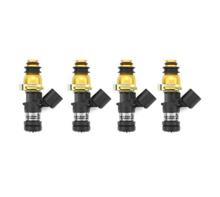 Injector Dynamics ID1300X Top Feed Fuel Injectors for Subaru 02-14 WRX/07-17 STI (1300.48.11.WRX.4)
