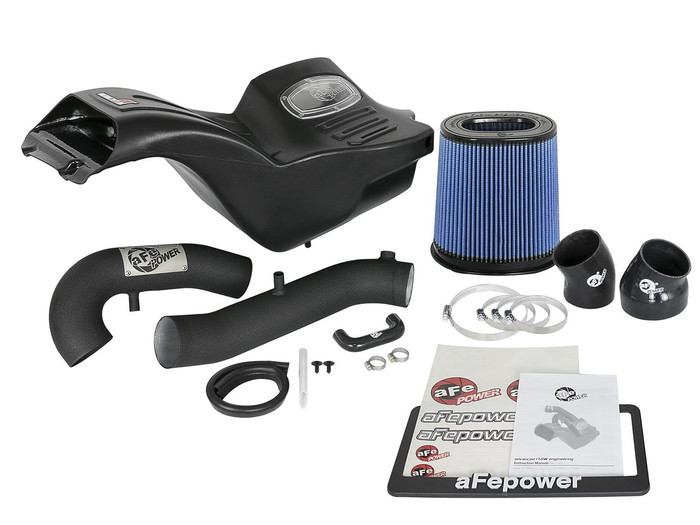 aFe POWER 54-73120-B Momentum XP Pro 5R Cold Air Intake System for 17-18 Ford F-150 Raptor EcoBoost V6-3.5L (54-73120-B)