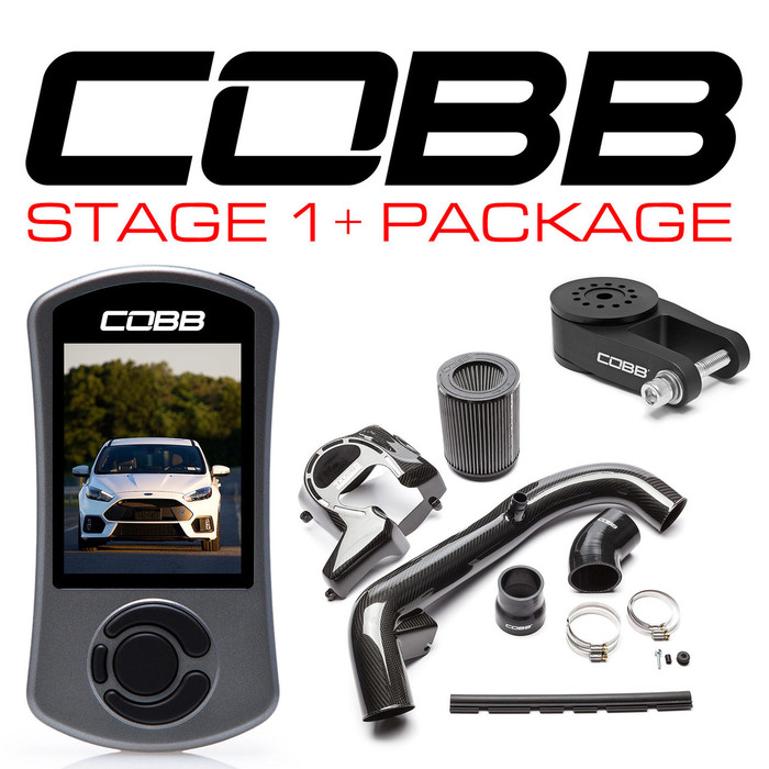 Cobb Ford Stage 1+ Carbon Fiber Power Package Focus RS 16-18 (FOR004001P)
