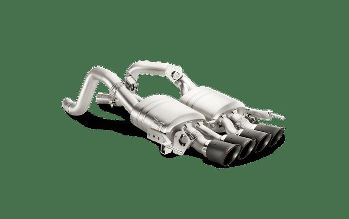 Akrapovic Slip-On Line (Titanium) w/ Carbon Tips for 14-18 Chevrolet Corvette Stingray (C7) (MTP-CO/TI/1)