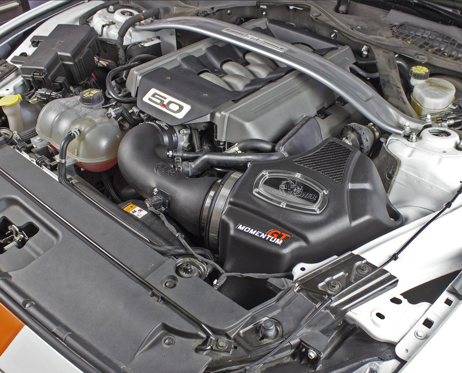 aFe POWER 51-73203 Momentum GT Pro DRY S Cold Air Intake System Ford Mustang GT 15-17 V8-5.0L