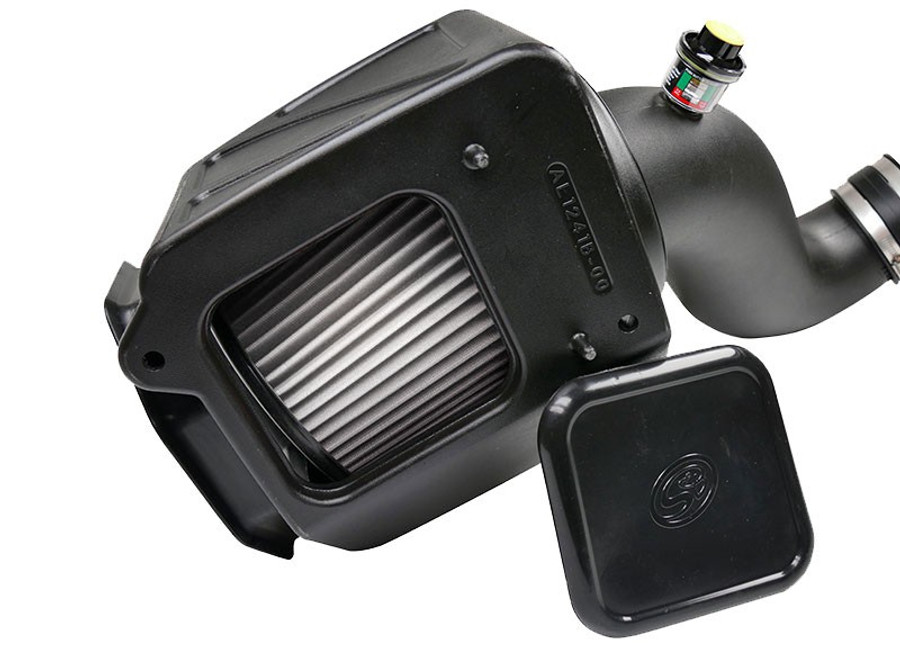 S&B 75-5091D Cold Air Intake for 2007-2010 Chevy / GMC Duramax 6.6L (Dry Extendable Filter)