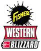 "21590 - FISHER - WESTERN - BLIZZARD - SNOWEX 1/2-13X1-1/2 HX CS G5 W/HNDL *GREEN* 7"" STRAIGHT HANDLE"
