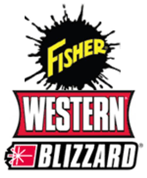95795 - FISHER - WESTERN - BLIZZARD SPINNER SHAFT POLY HOPPER