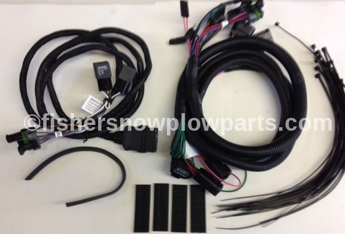 69818 FISHER - WESTERN - BLIZZARD - SNOWEX  PLUG-IN HARNESS KIT HB3/H11/HIR2 2014 - 2015 GM 1500 & 2015 - CURRENT GM 2500/3500