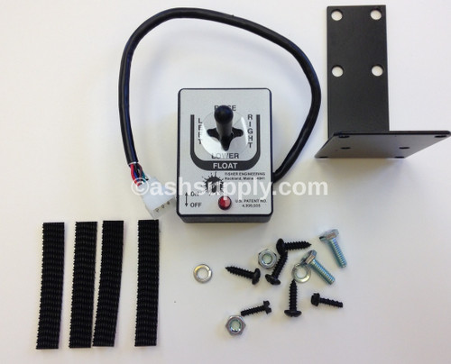 8292 FISHER CONTROL JOYSTICK STR BLADE FISHER LOGO