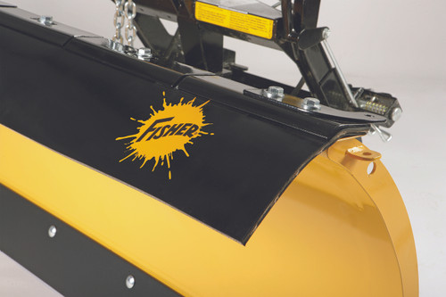 """52096 FISHER RUBBER  DEFLECTOR, 10"""" KIT 8.5 - 9' HD2 & HDX PLOWS ONLY"""