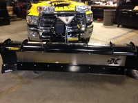 FISHER ENGINEERINGS NEW HDX PLOW WITH ACCESSORIES INSTALLED