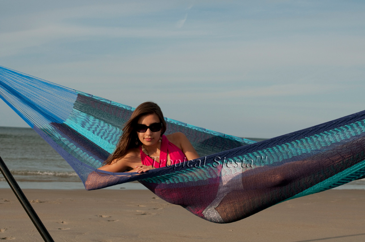 cool breezy point    mayan mexican cotton double hammock   staying sharp  rh   stayingsharpllc