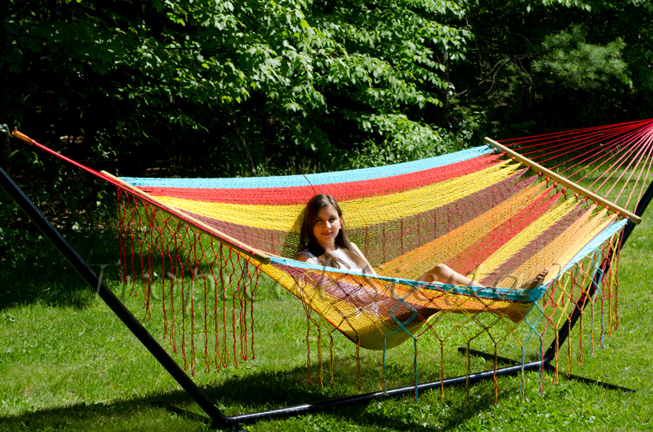 breezy point    american style mayan mexican hammock breezy point    mayan mexican cotton double hammock   staying sharp  rh   stayingsharpllc