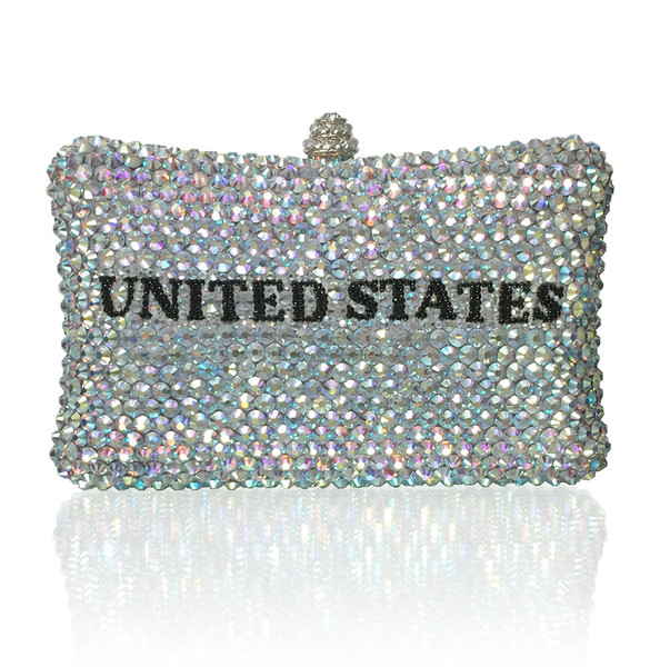 Personalized Large Clutch (iPhone Plus Friendly).