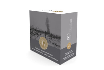 2016 $20 FINE SILVER COIN - FIRST WORLD WAR BATTLEFRONT SERIES: THE BATTLE OF BEAUMONT-HAMEL