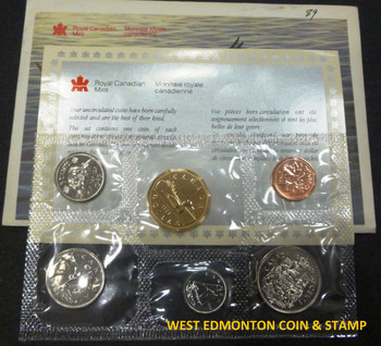 1989 UNCIRCULATED PROOF LIKE SET