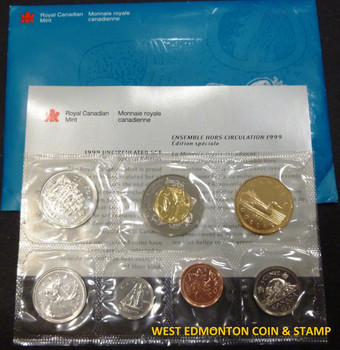 1999 NUNAVUT UNCIRCULATED PROOF LIKE SET