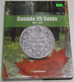 VISTA COIN BOOK CANADA 25 CENTS (QUARTERS)  - VOL 1 - 1858-1952