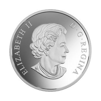 2017 $30 FINE SILVER COIN FLORA AND FAUNA OF CANADA