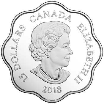 2018 $15 FINE SILVER COIN LUNAR LOTUS – YEAR OF THE DOG