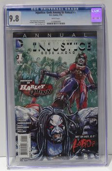 INJUSTICE: GODS AMONG US ANNUAL #1 JAN 2014  CGC 9.8