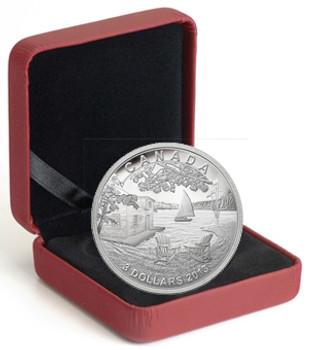2013 $3 FINE SILVER COIN - MARTIN SHORT PRESENTS CANADA