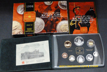 1998 PROOF DOUBLE DOLLAR SET