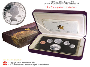 1953-2003 SPECIAL EDITION CORONATION SET