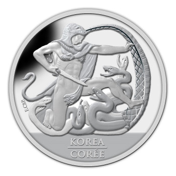 2013 SPECIAL EDITION SILVER DOLLAR - THE 60TH ANN. OF THE KOREAN ARMISTICE AGREEMENT