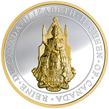 2017 $25 FINE SILVER COIN THE GREAT SEAL OF CANADA