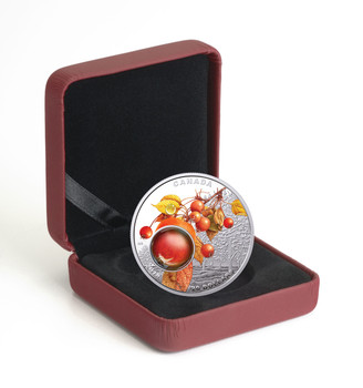2018 $20 FINE SILVER COIN MOTHER NATURE'S MAGNIFICATION: MORNING DEW