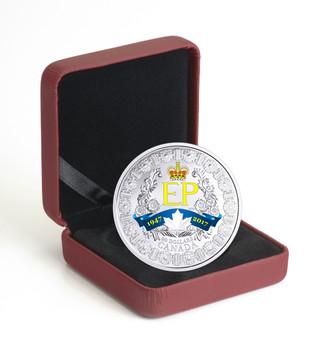 2017 $20 FINE SILVER COIN A PLATINUM CELEBRATION