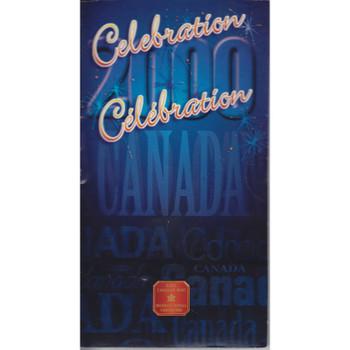 CELEBRATION 2000 COLOURED QUARTER IN SEALED PRESENTATION FOLDER