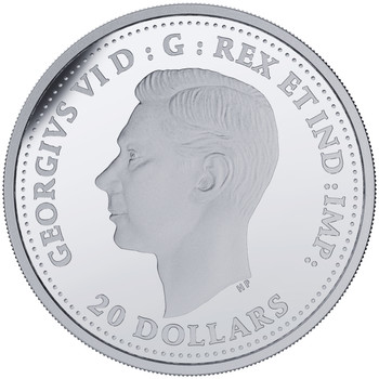 2018 $20 FINE SILVER COIN – SECOND WORLD WAR BATTLEFRONT SERIES – THE BATTLE OF THE ATLANTIC