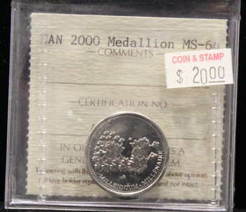 2000 CANADIAN MEDALLION ICCS MS - 64