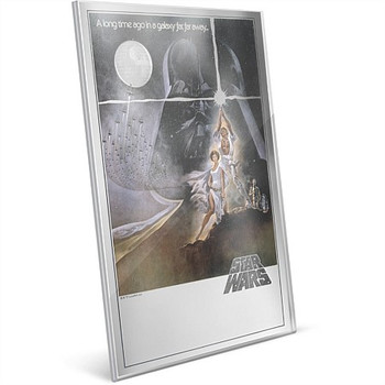 Star Wars: A New Hope #1 - 35g Pure Silver Foil