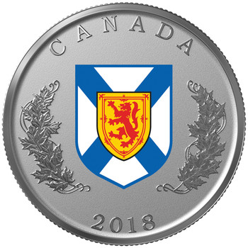 2018 FINE SILVER 14-COIN SET HERALDIC EMBLEMS OF CANADA