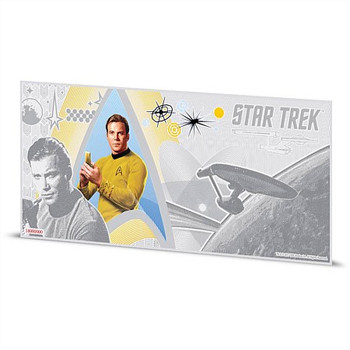 STAR TREK: THE ORIGINAL SERIES - 5 GRAM FINE SILVER NOTE - KIRK