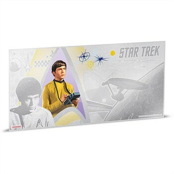 STAR TREK: THE ORIGINAL SERIES - 5 GRAM FINE SILVER NOTE - CHEKOV