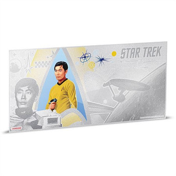 STAR TREK: THE ORIGINAL SERIES - 5 GRAM FINE SILVER NOTE - SULU