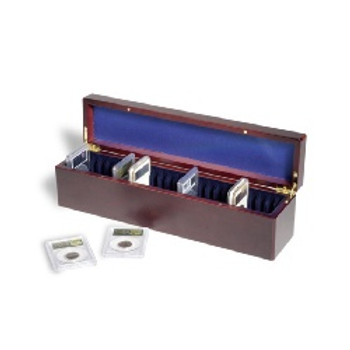 COIN CASE FOR 25 CERTIFIED COIN HOLDERS
